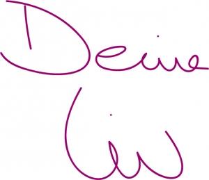 Unterschrift Deine Liv